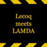 Lecoq-meets-LAMDA